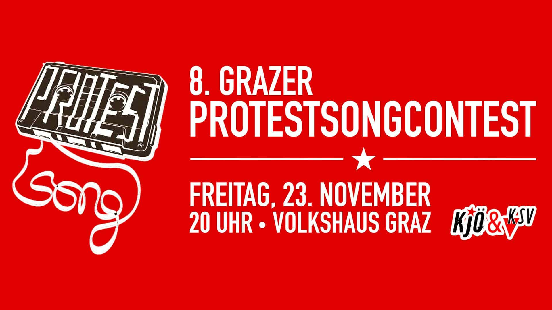 Veranstaltung: Grazer Protestsongcontest