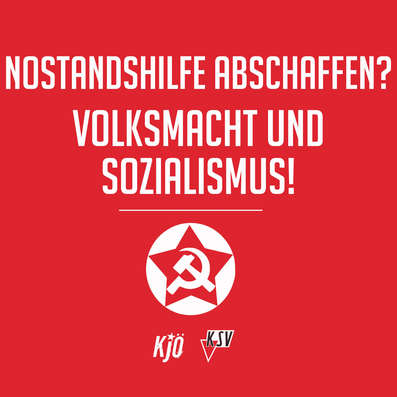 Notstandshilfe abschaffen? Sozialismus und Volksmacht!